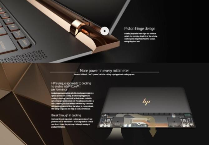 HP Spectre 13 - premiera ultrabooka o oryginalnej stylistyce [2]