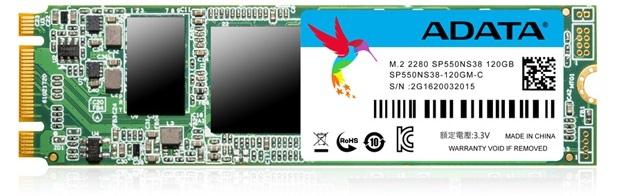 ADATA Premier SP550 M.2 - nowa wersja tanich dysków SSD [2]