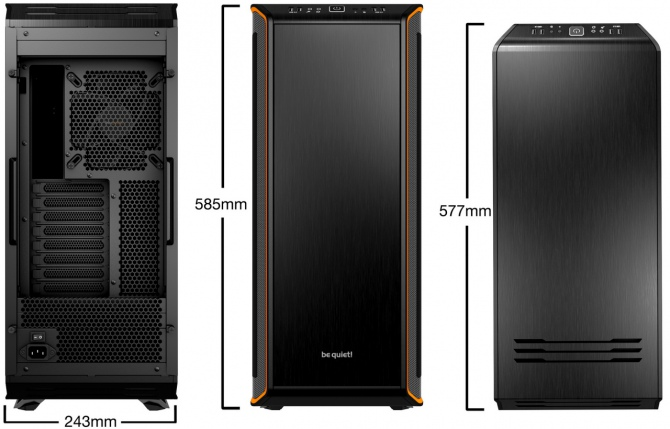 Premiera be quiet! Dark Base 900 i Dark Base 900 Pro  [1]