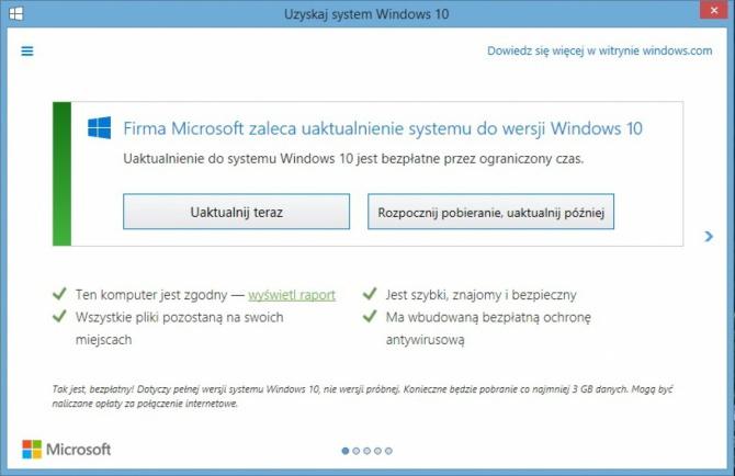 Microsoft zapłaci 10000 USD kary za aktualizację Windows 10 [2]
