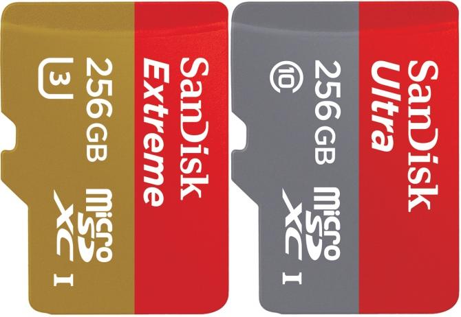 WD prezentuje najszybszą na świecie kartę microSD 256 GB [1]