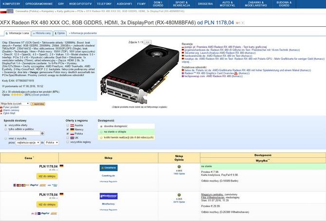 Wysokie ceny Radeon RX 480 - Gdzie jest źródło problemu?  [2]