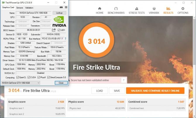 GeForce GTX 1060 - pierwsze wyniki wydajności w 3DMark [3]