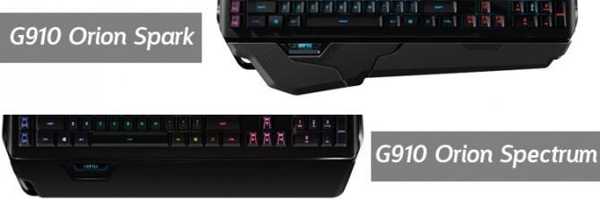 Logitech odświeża klawiaturę mechaniczną G910 Orion Spectrum [1]