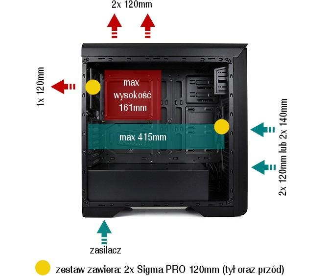 Gladius M35W Pure Black - kolejna opłacalna obudowa z oknem [2]