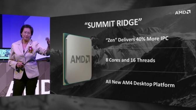 AMD Zen - pierwsze dostawy CPU jeszcze przed końcem roku [1]
