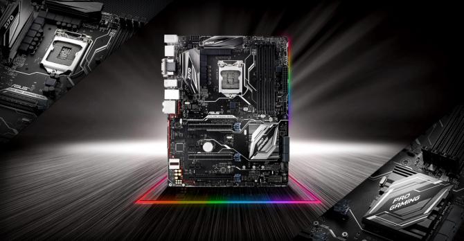 ASUS Z170 PRO Gaming/Aura odświeżona płyta główna z RGB [1]