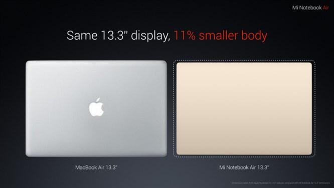 Xiaomi Mi Notebook Air - odpowiedź na MacBooka Air 13 [1]