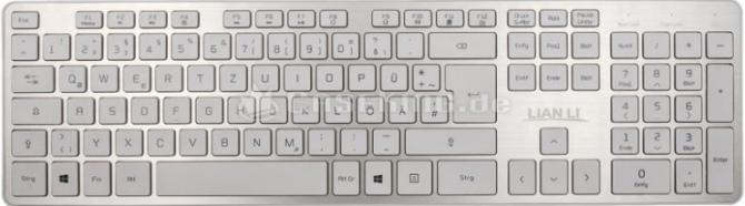 Lian Li KB-01 i KM-01 - bezprzewodowe klawiatury z aluminium [1]