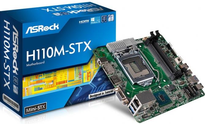 ASRock prezentuje pierwszą na świecie płytę mini STX H110 [3]