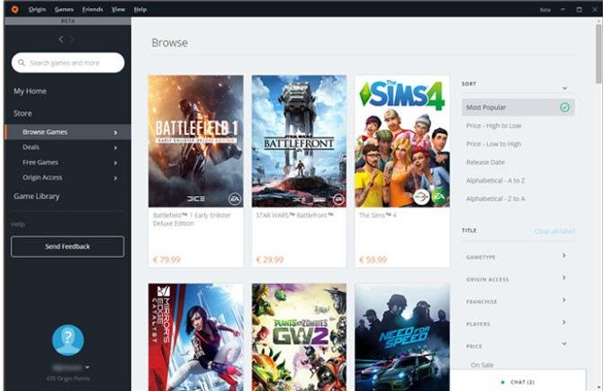 Electronic Arts zaprezentowało nowy wygląd platformy Origin [1]