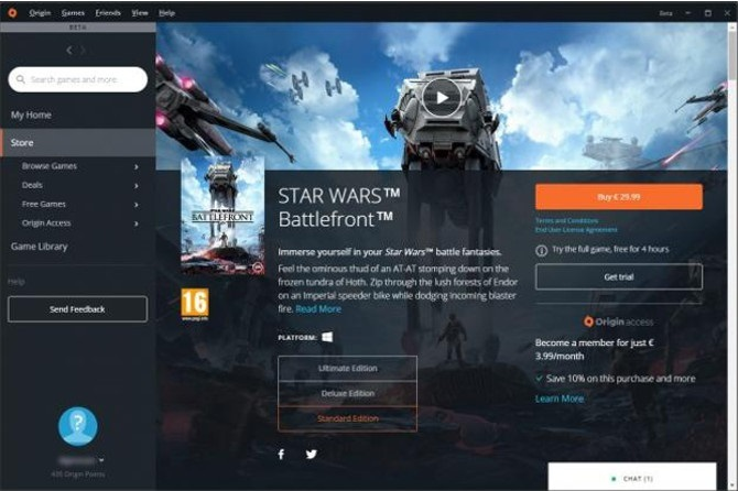 Electronic Arts zaprezentowało nowy wygląd platformy Origin [2]