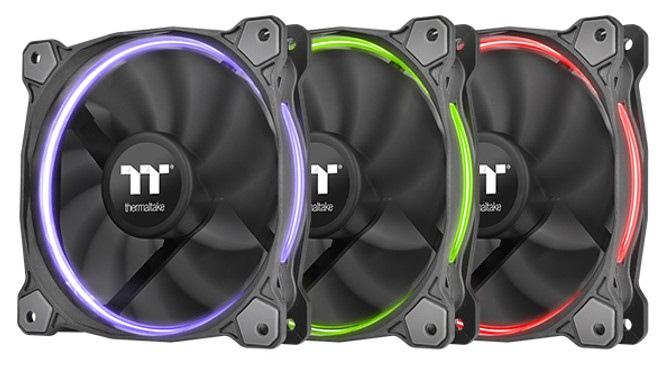 Nowe wentylatory Thermaltake Riing RGB dedykowane chłodnicom [1]