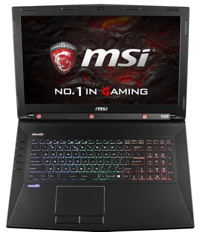 Notebooki MSI wyposażone w karty NVIDIA GeForce GTX 10x0 [7]