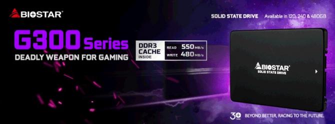 Gaming G300 - Biostar wchodzi na rynek dysków SSD [1]