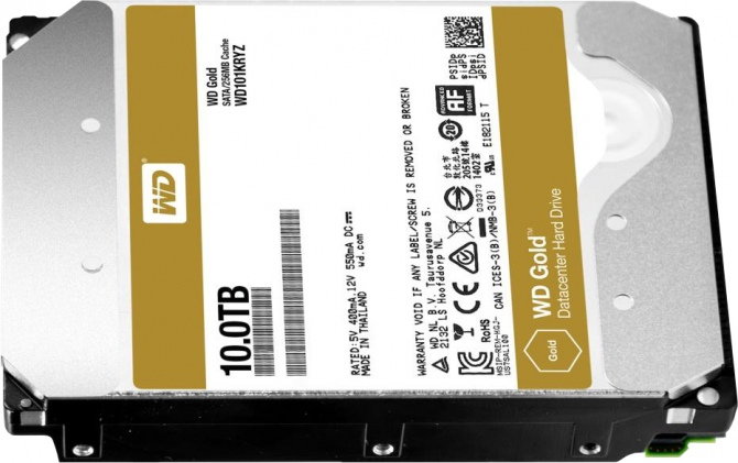 WD Gold 10 TB - nowy dysk z helem w klasie enterprise [2]