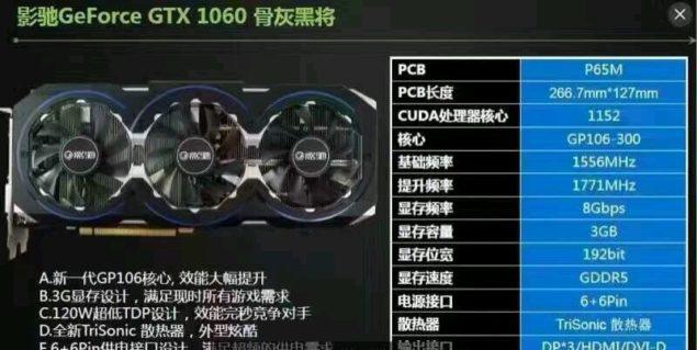 GeForce GTX 1060 3 GB oraz GeForce GTX 1050 - Nowe informacj [6]