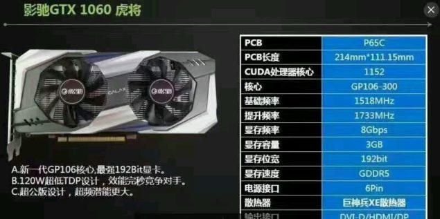 GeForce GTX 1060 3 GB oraz GeForce GTX 1050 - Nowe informacj [7]