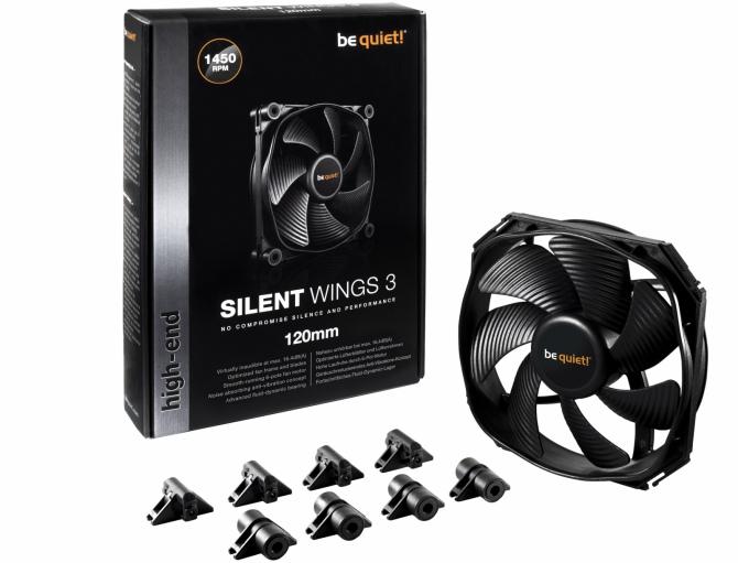 be quiet! - wentylatory SilentWings 3 trafiają do sprzedaży [1]