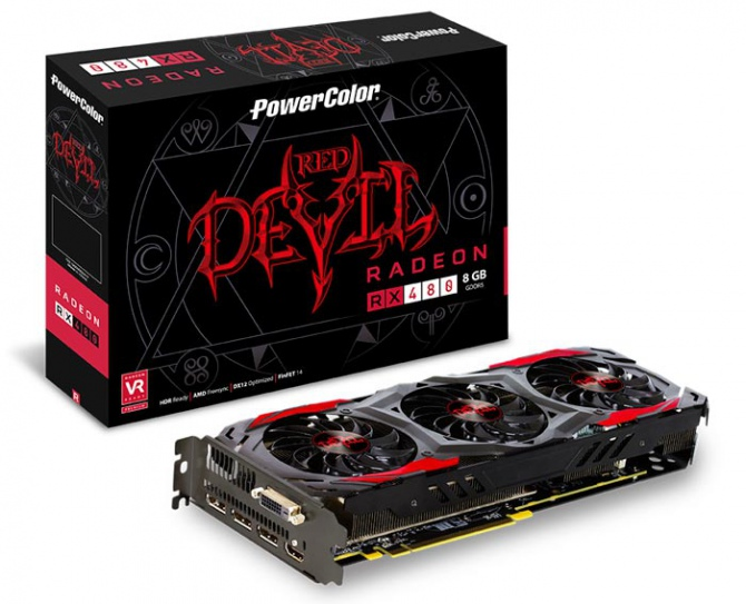 PowerColor RX 480 Red Devil otrzymał odblokowany BIOS [1]