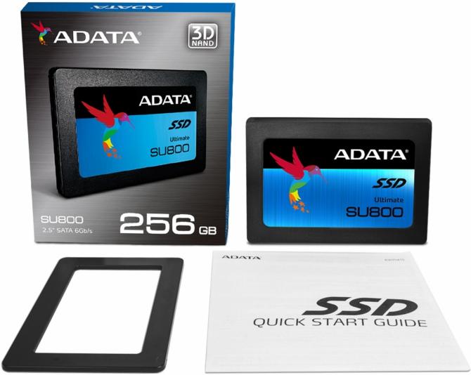 ADATA Ultimate SU800 - dyski SSD z pamięciami 3D NAND TLC [1]