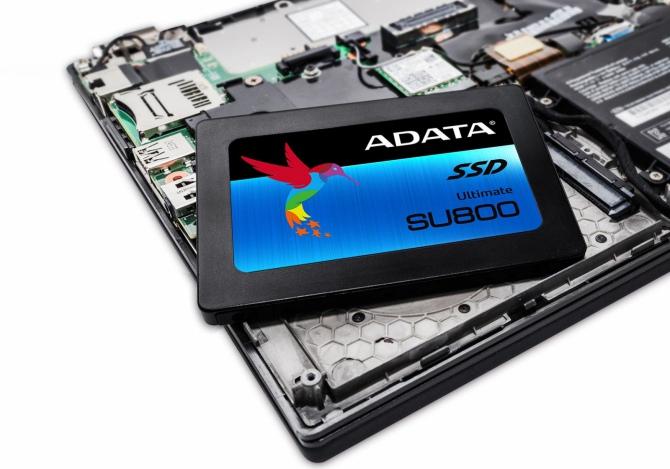 ADATA Ultimate SU800 - dyski SSD z pamięciami 3D NAND TLC [2]