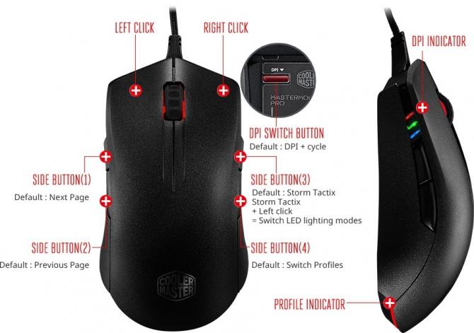 Cooler Master MasterMouse Pro L: Ta mysz lubi się przebierać [3]