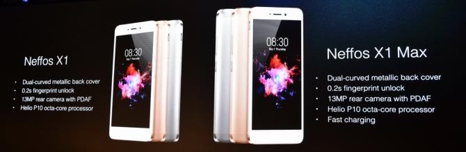 Neffos X1 i X1 Max - mocne uderzenie smartfonów TP-Link [12]