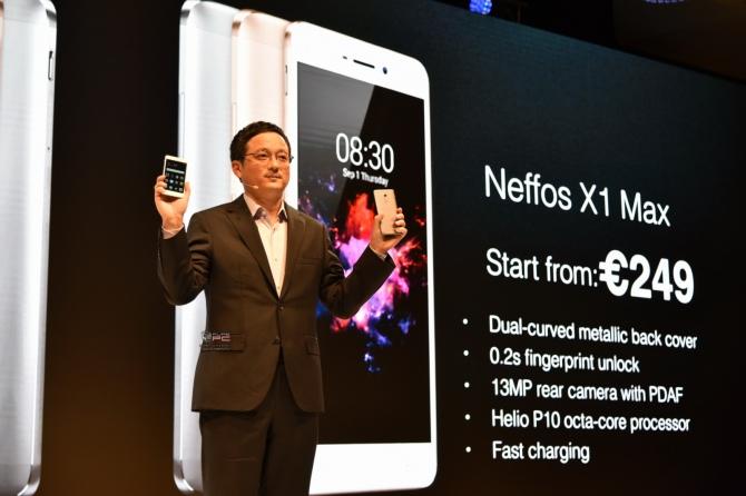 Neffos X1 i X1 Max - mocne uderzenie smartfonów TP-Link [14]
