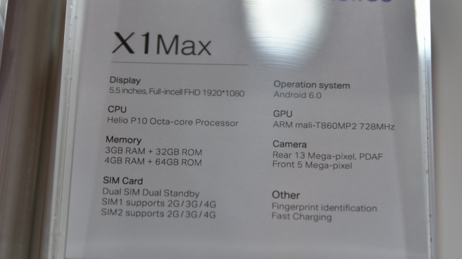 Neffos X1 i X1 Max - mocne uderzenie smartfonów TP-Link [19]
