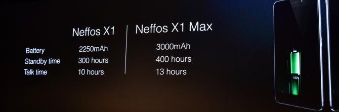 Neffos X1 i X1 Max - mocne uderzenie smartfonów TP-Link [10]