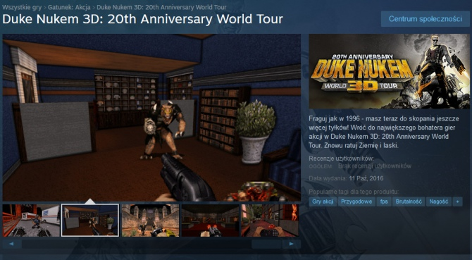 Duke Nukem 3D: 20th Anniversary World Tour - Who wants some? [1]