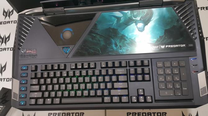 Pierwsze wrażenia: Acer Predator 21X z GeForce GTX 1080 SLI [4]