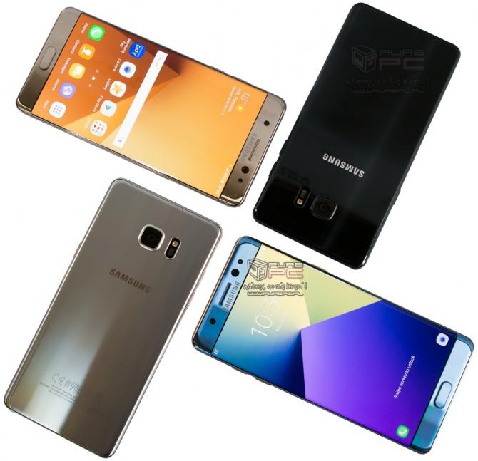 Samsung wstrzymuje sprzedaż modelu Galaxy Note7 [1]