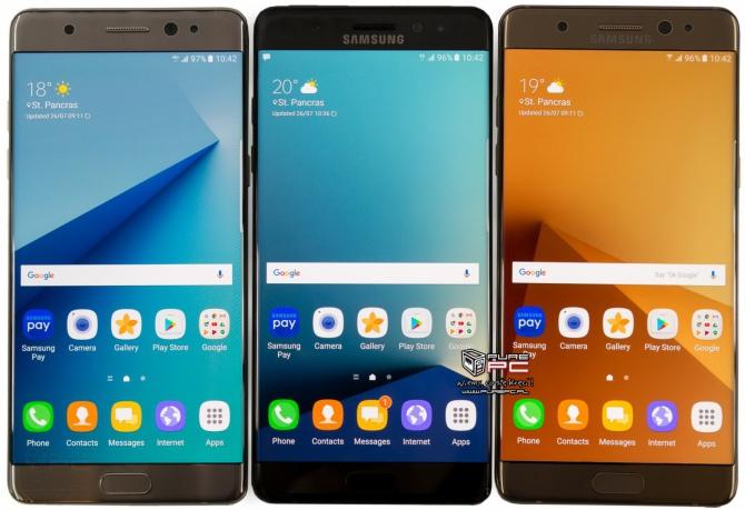 Samsung wstrzymuje sprzedaż modelu Galaxy Note7 [2]