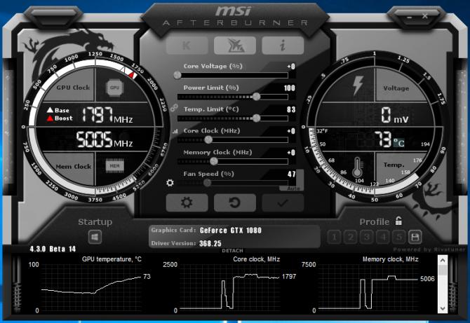 MSI AfterBurner 4.3.0 Beta 14 - wsparcie dla DirectX 12 [1]