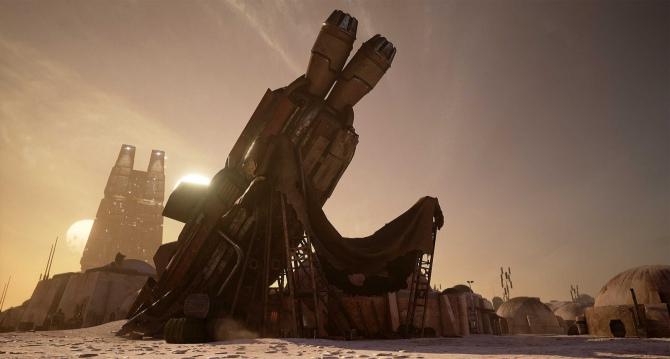 Lokacja z Gwiezdnych Wojen odtworzona na Unreal Engine 4 [2]
