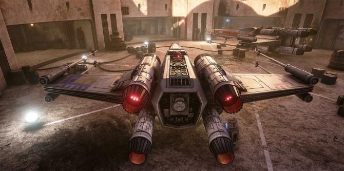 Lokacja z Gwiezdnych Wojen odtworzona na Unreal Engine 4 [3]