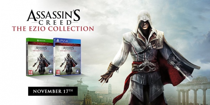 Assassin's Creed: The Ezio Collection w drodze na PS4 i XONE [1]