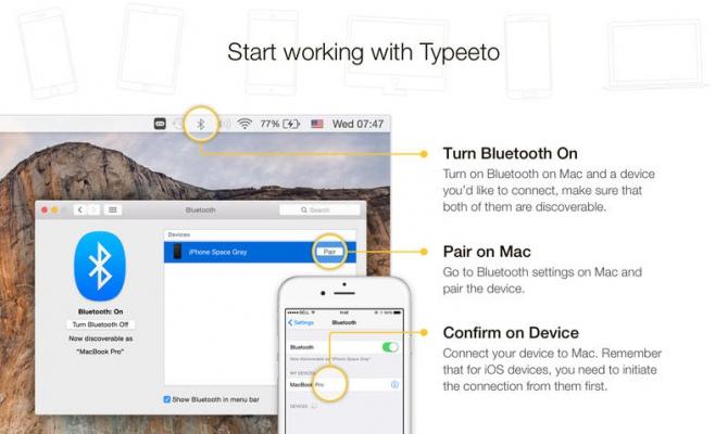 Mac jako klawiatura Bluetooth dzięki Typeeto, teraz za darmo [2]
