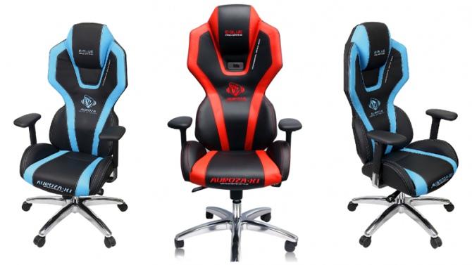 E-Blue Auroza X1 - gamingowy fotel z oświetleniem LED [2]