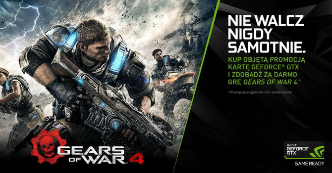 Gears of War 4 za darmo do kart GeForce GTX 1080 i GTX 1070 [3]