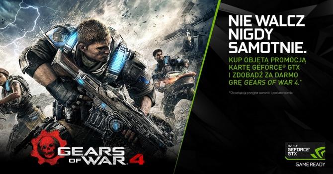 Gears of War 4 za darmo do kart GeForce GTX 1080 i GTX 1070 [3]
