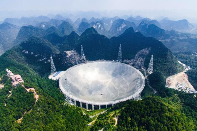 Chiny szukają pozaziemskiej cywlizacji przy pomocy Oka Nieba [1]
