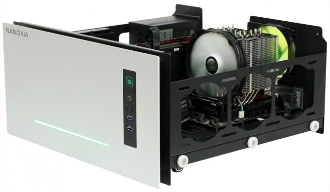 Nanoxia Project S - Modularna obudowa HTPC z wyższej półki [4]