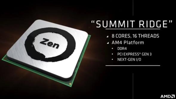 AMD Zen - prezentacja w styczniu na targach CES 2017 [1]