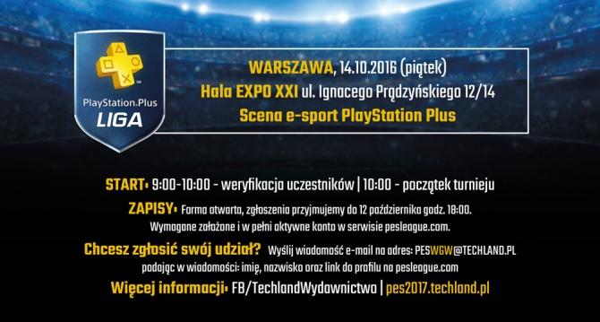 Zaproszenie na turniej Pro Evolution Soccer 2017 w Warszawie [1]