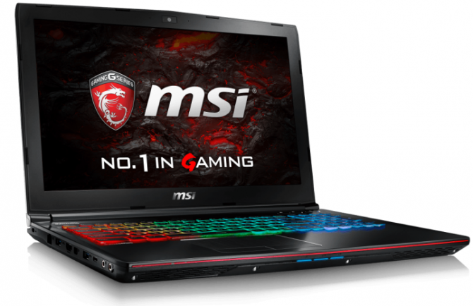 Premiera laptopów MSI z kartą NVIDIA GeForce GTX 1060 3 GB [1]