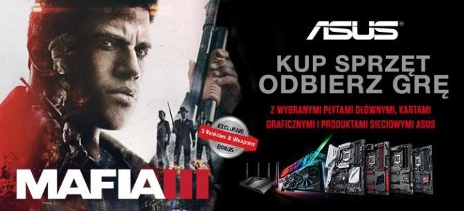Darmowa Mafia III wraz z wybranymi produktami firmy ASUS [1]