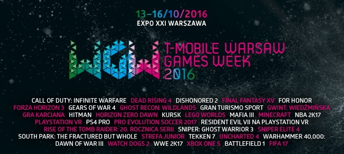 T-Mobile Warsaw Games Week. Święto graczy 13-16.10.2016 [3]